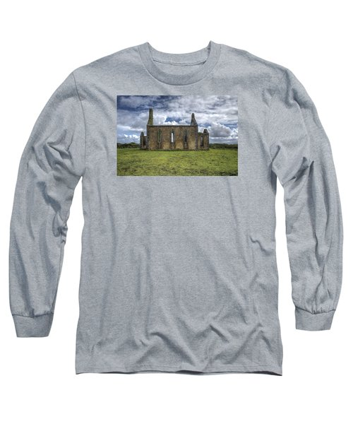Stthomas Church In Aran Islands, Inis Mor Long Sleeve T-Shirt