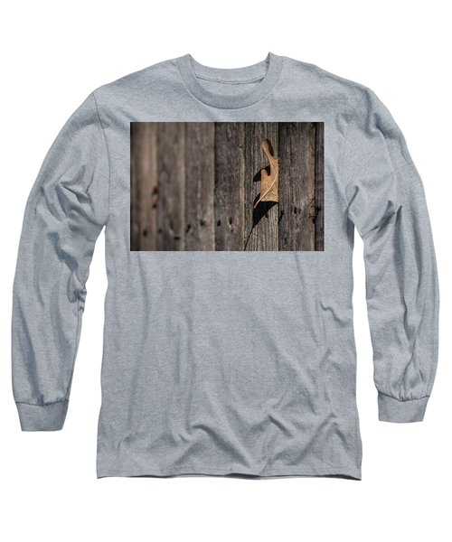 Long Sleeve T-Shirt featuring the photograph Stuck by Karol Livote