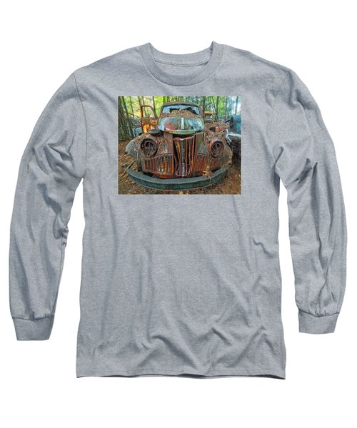 Studebaker With Broken Glass Long Sleeve T-Shirt