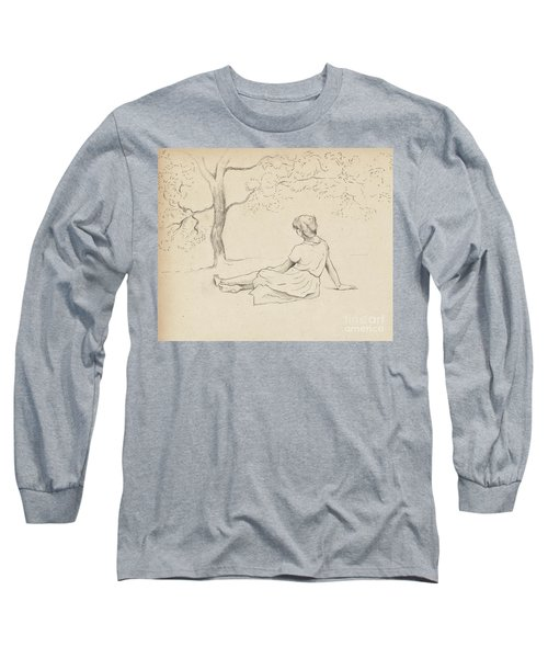 Study For Laundresses In Provence Long Sleeve T-Shirt