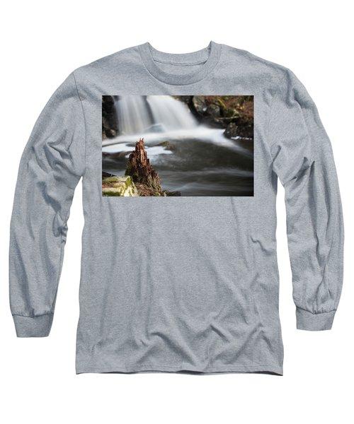 Stumped At The Secret Waterfall Long Sleeve T-Shirt