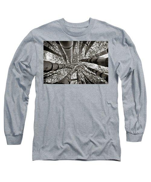 Stunning Bamboo Forest Long Sleeve T-Shirt