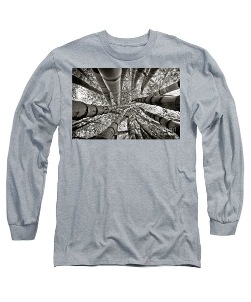 Stunning Bamboo Forest Long Sleeve T-Shirt