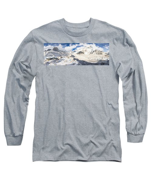 Stunning Nepal - Ebc Long Sleeve T-Shirt