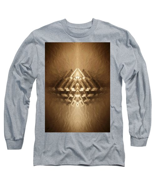 Subtle Geometrix Long Sleeve T-Shirt