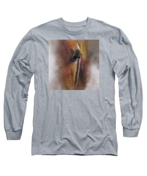Subtle Horse Long Sleeve T-Shirt