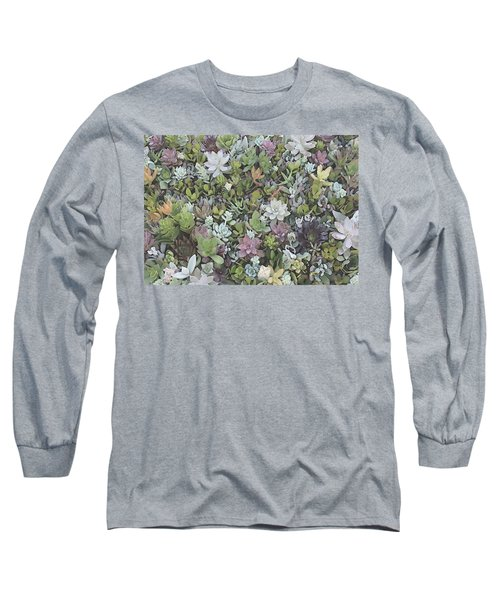 Succulent 8 Long Sleeve T-Shirt