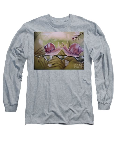 Sue And Sammy Snail Long Sleeve T-Shirt
