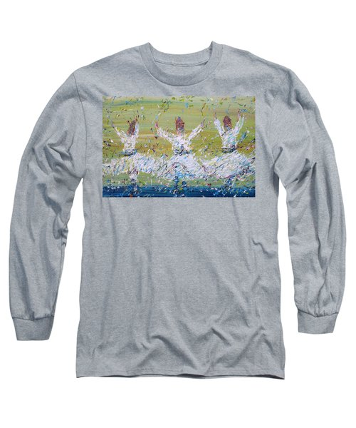 Sufi Whirling Long Sleeve T-Shirt by Fabrizio Cassetta