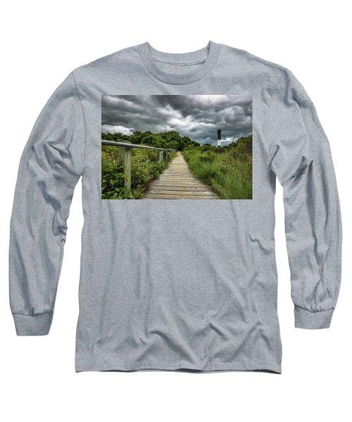 Sullivan's Island Summer Storm Clouds Long Sleeve T-Shirt