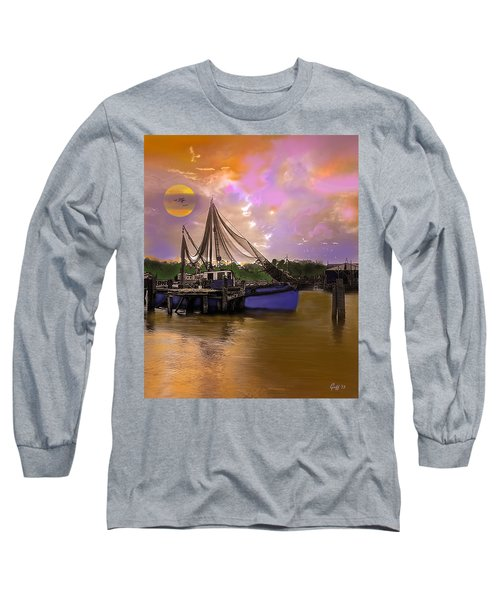 Sultry Bayou Long Sleeve T-Shirt by J Griff Griffin