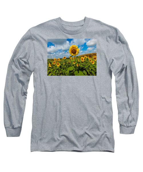Summer At The Farm Long Sleeve T-Shirt