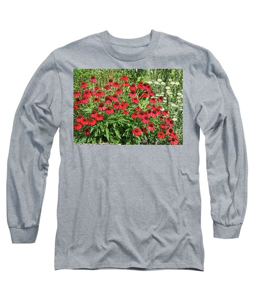 Long Sleeve T-Shirt featuring the photograph Summer Color by Denise Romano