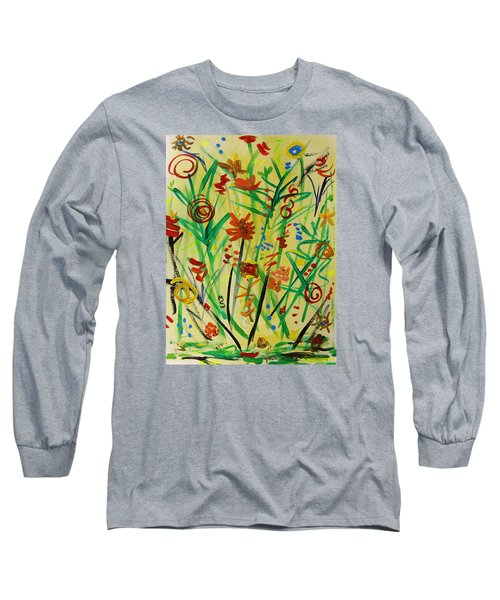 Summer Ends Long Sleeve T-Shirt by Mary Carol Williams