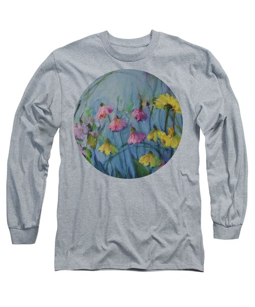 Summer Flower Garden Long Sleeve T-Shirt