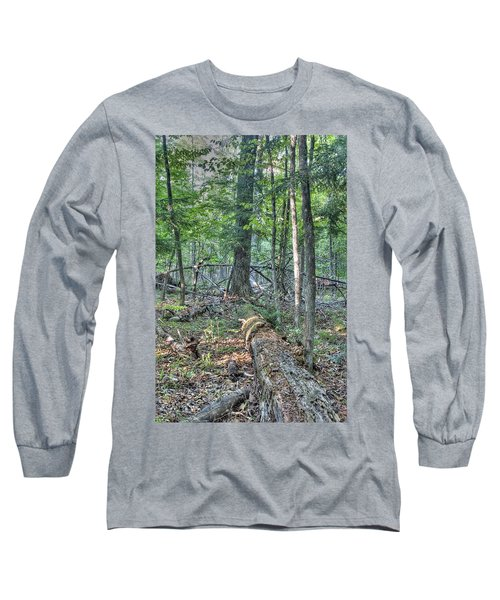 Summer In A Canadian Forest Long Sleeve T-Shirt
