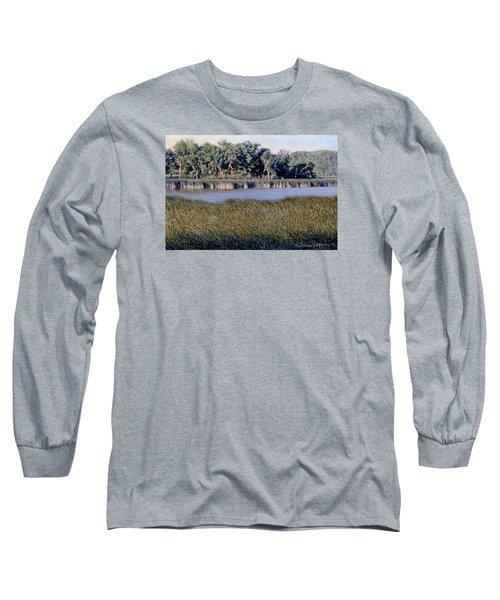 Summer Morning On The Slough Long Sleeve T-Shirt