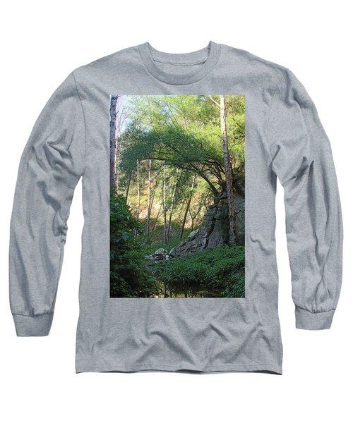 Summer On Bitten Path Long Sleeve T-Shirt
