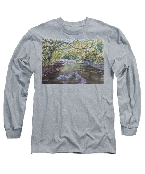 Summer On The South Tow River Long Sleeve T-Shirt by Joel Deutsch