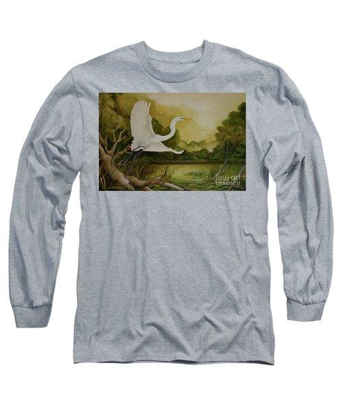 Summer Solitude Long Sleeve T-Shirt