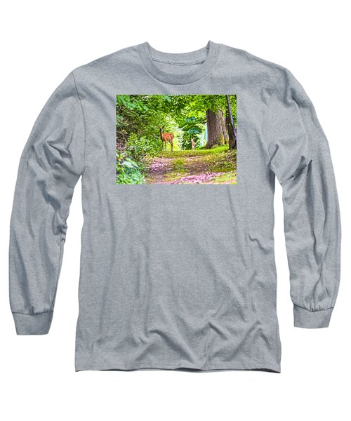 Summer Stroll Long Sleeve T-Shirt by Anthony Baatz