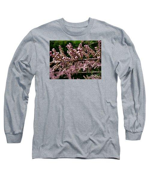 Long Sleeve T-Shirt featuring the photograph Summer Tamarisk 2 by Jean Bernard Roussilhe