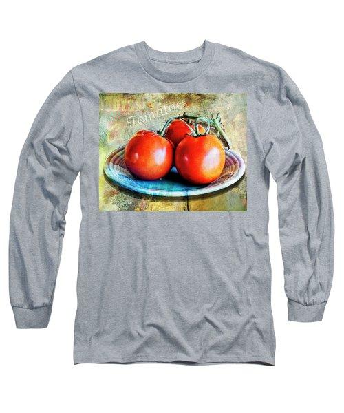 Summer Tomatoes Long Sleeve T-Shirt