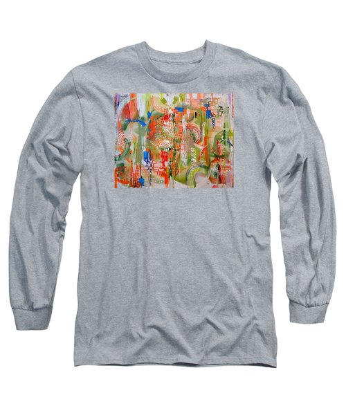 Summertime Long Sleeve T-Shirt by Theresa Marie Johnson