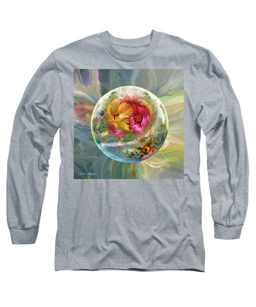 Long Sleeve T-Shirt featuring the digital art Summer Daydream by Robin Moline