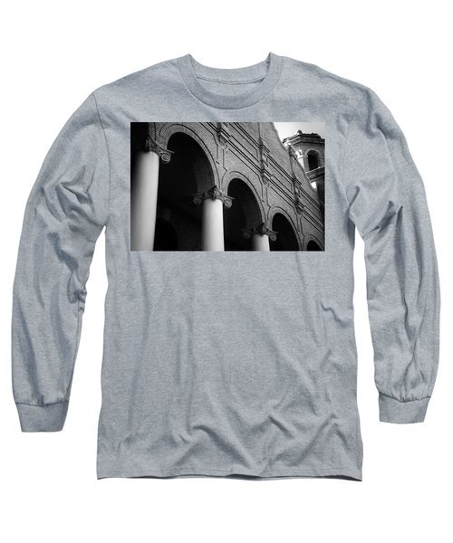 Long Sleeve T-Shirt featuring the photograph Sumter County Courthouse by Richard Rizzo