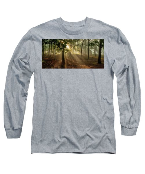 Sun And Clouds Long Sleeve T-Shirt