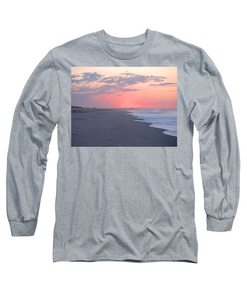 Long Sleeve T-Shirt featuring the photograph Sun Brightened Clouds by  Newwwman