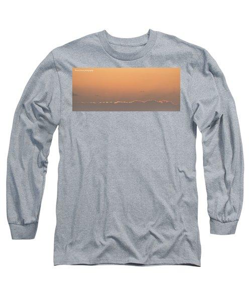 Sun N Clouds Long Sleeve T-Shirt by Nance Larson