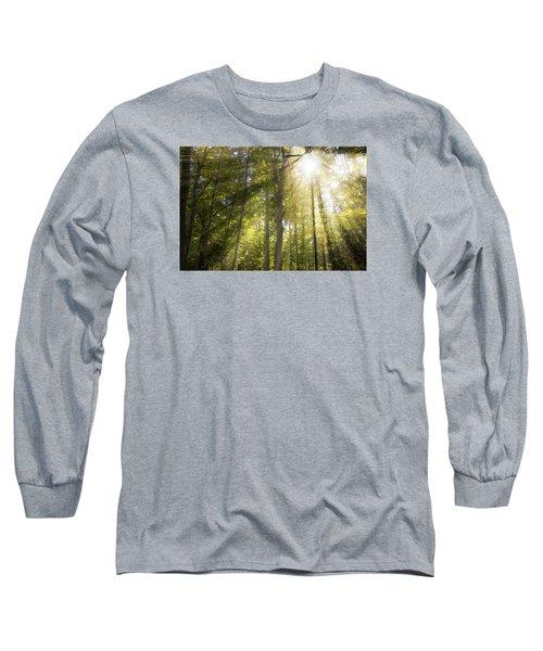 Sun Rays Through Trees Long Sleeve T-Shirt
