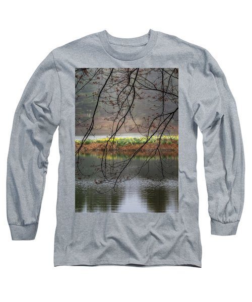 Long Sleeve T-Shirt featuring the photograph Sun Shower by Bill Wakeley