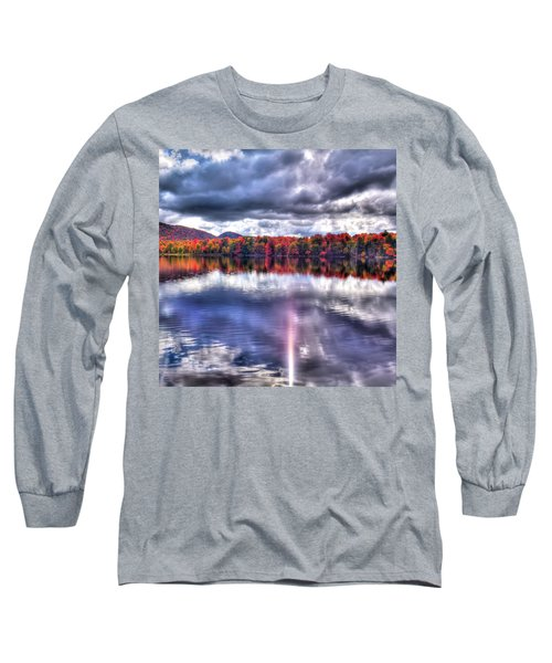 Long Sleeve T-Shirt featuring the photograph Sun Streaks On West Lake by David Patterson