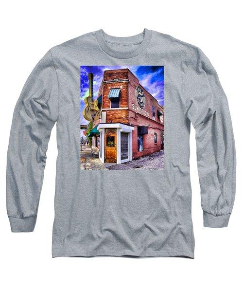 Sun Studio Long Sleeve T-Shirt by Dennis Cox WorldViews
