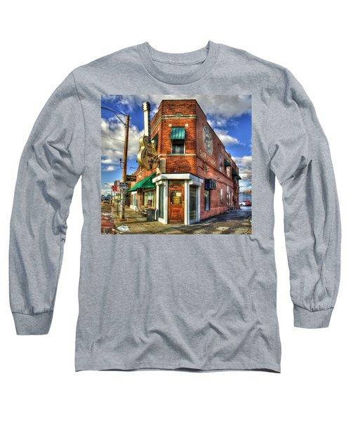 Sun Studio Rock N Roll Birthing Place Memphis Tennessee Art Long Sleeve T-Shirt