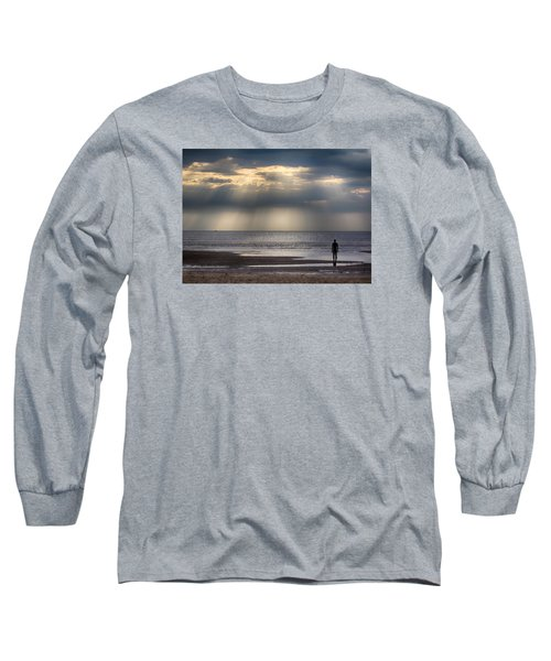 Sun Through The Clouds 2 5x7 Long Sleeve T-Shirt
