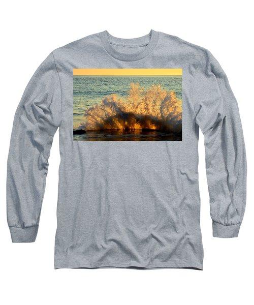 Sunburst Long Sleeve T-Shirt by Dianne Cowen