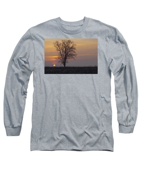 Sunday At Dawn Long Sleeve T-Shirt by Cesare Bargiggia