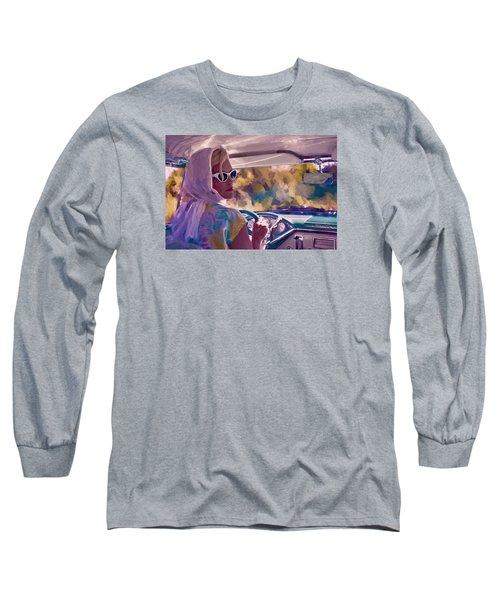 Sunday Drive Long Sleeve T-Shirt by Louis Ferreira