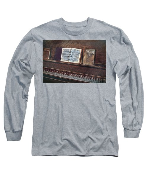 Sunday Hymns Long Sleeve T-Shirt by Marion Johnson