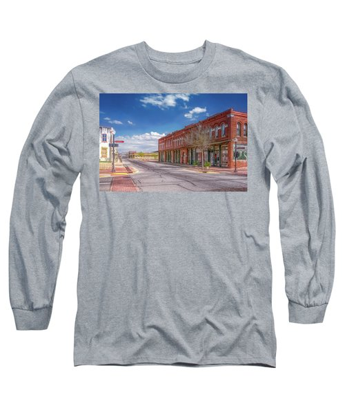 Sunday In Brenham, Texas Long Sleeve T-Shirt