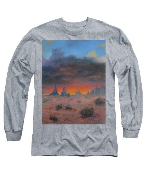 Sundown On The Desert Long Sleeve T-Shirt