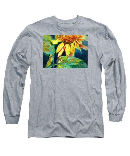 Sunflower Head 4 Long Sleeve T-Shirt