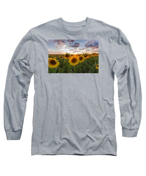 Sunflower Sunset Long Sleeve T-Shirt