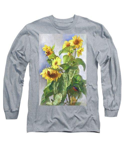 Sunflowers After The Rain Long Sleeve T-Shirt