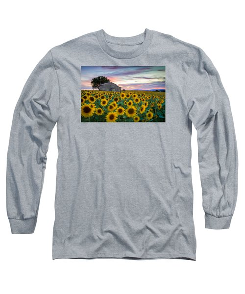 Sunflowers In Provence Long Sleeve T-Shirt