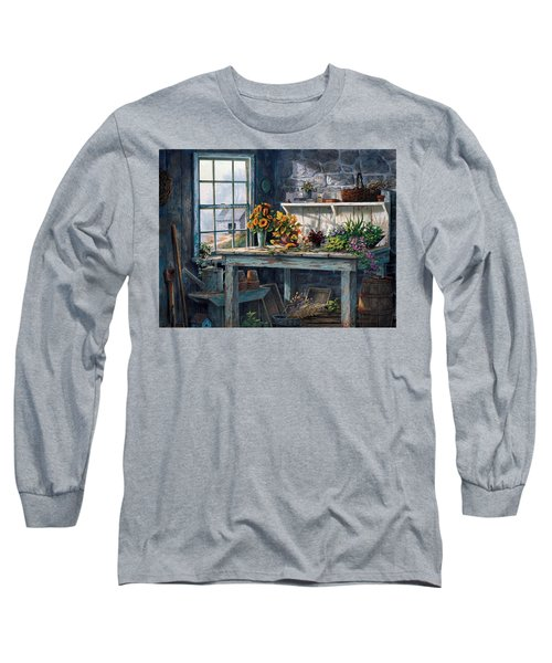 Sunlight Suite Long Sleeve T-Shirt by Michael Humphries